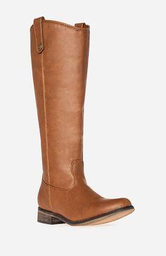 Sleek Knee High Riding Boots = LOVE