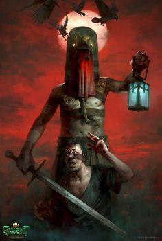 Gore Aesthetic, The Witcher 3, Art Station, Illustration Artists, Fantasy Artwork, Horror Art, Skull Art, Fantasy Creatures, Dark Art