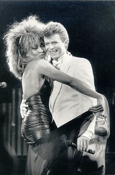"""Tonight (1984), another dance-oriented album, found Bowie collaborating with Tina Turner and, once again, Iggy Pop. It included a number of cover songs, among them the 1966 Beach Boys hit """"God Only Knows""""."""