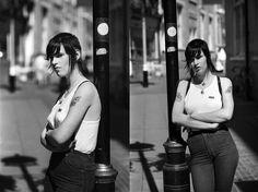 Skinhead girl, Carnaby St London, 1987