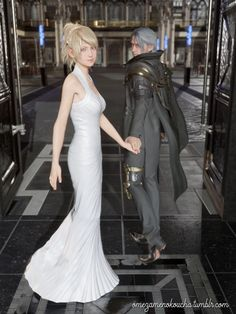 """""""Welcome home II"""" Noctis and Lunafreya from Final Fantasy XV © Square Enix Fanart only. No copyright infringement intended. ꒰⌗´͈ ᵕ ॣ`͈⌗꒱৩ CREDITS Models belong to Square Enix Reference I; Final Fantasy Xv Wallpapers, Final Fantasy Xv Prompto, Final Fantasy Characters, Fantasy Series, Noctis And Luna, Reborn Anime, Couples Cosplay, 3d Printer Designs, Beautiful Anime Girl"""