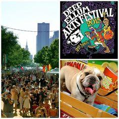 The Deep Ellum Arts Festival celebrates it's 21st year