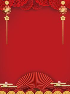 Red Festive Chinese Style New Year Background Design Wedding Invitation Background, Wedding Invitation Card Design, Wedding Card Templates, Invitation Cards, Invitation Maker, Royal Background, Banner Background Images, Background Templates, Chinese New Year Background
