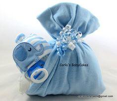 Stork bundle baby | Sleeping baby diaper cake | Stork bundle | Diaper baby…