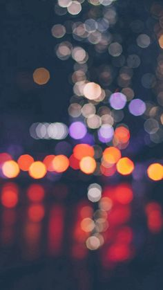 Night Bokeh Art Dark Red Light Pattern #iPhone #6 #plus #wallpaper