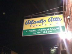 Atlantis Attic, our favorite second hand shop about 5 mins from our place!