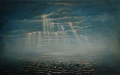 Roi James ~ Anna's Ocean, 2009 (oil)