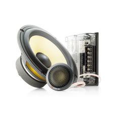Focal 165KR - 16,5cm 2-weg componenten set. Ontwikkeld om u kennis te laten maken met het top niveau van akoestische resolutie, geluidskwaliteit en geluid druk, de Focal Elite K2 Power serie.