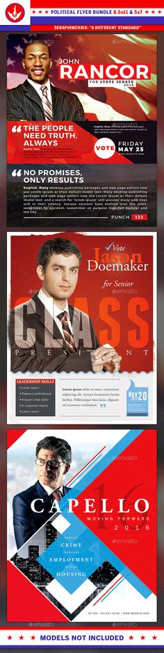 The 146 Best Political Flyer Template Images On Pinterest Flyer