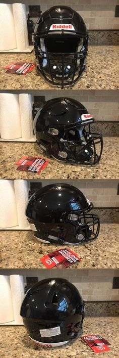 Helmets and Hats 21222: Riddell Revo Speed Flex Football Helmet Black W Facemask Adult X-Large Xl -> BUY IT NOW ONLY: $365 on eBay!