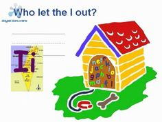 Who let the letters out?-Upper and lowercase together, with sounds and pictures that start with each letter