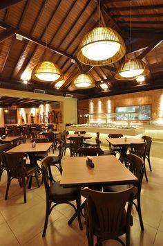 Bar e Restaurante Ilha Sertaneja - Ambiente Interno