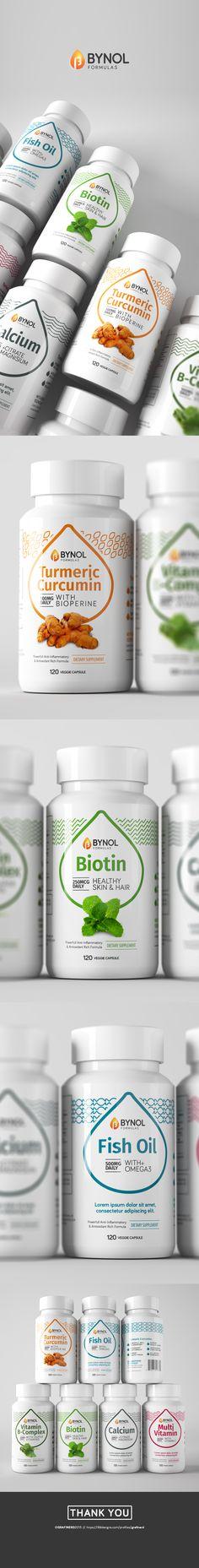 Bynol Formula | 99designs Medical Packaging, Tea Packaging, Bottle Packaging, Bottle Mockup, Beauty Packaging, Types Of Packaging, Container Design, Layout Template, Packaging Design Inspiration
