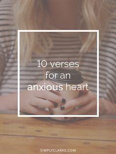 10 Verses for an Anxious Heart
