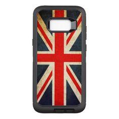 #vintage - #Vintage Union Jack British Flag OtterBox Defender Samsung Galaxy S8 Case