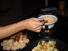 Creamy Cheddar FondueQuick, easy!