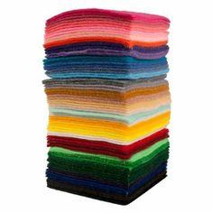 Amazon.com: ACRYLIC FELT SAMPLE BAG: Arts, Crafts & Sewing