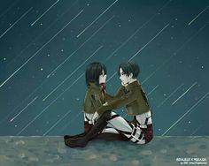 Levi Mikasa, Rivamika, Levi Ackerman, Attack On Titan, Fangirl, Manga, Cute, Anime, Fictional Characters