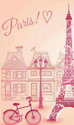 Papéis de parede Paris Wallpaper Hp, Paris Wallpaper, Cellphone Wallpaper, Wallpaper Keren, Wallpaper Backgrounds, Paris Party, Paris Theme, Paris Images, I Love Paris