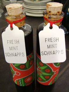 Handmade Holidays: DIY Homemade Peppermint Schnapps Recipe