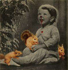 Jan Dziaczkowski, Obżarta dziewczynka, kolaż z cyklu The Last Christmas, fot. dzięki uprzejmości rodziny - photo 22
