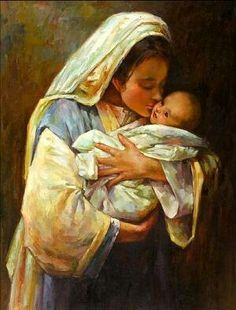 "Master, Morgan Weistling Study of ""Kissing the Face of God"" by Cynthia Mahlberg Mother Mary, Mother And Child, Jesus Mother, Child Baby, Mother Teresa, Baby Boy, Karla Ortiz, Morgan Weistling, Mama Mary"