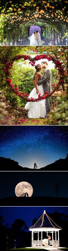 24 Wedding Photos That Look Like They Belong in Fairy Tales - The Magic Kiss!