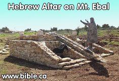Joshua's Altar on Mt. Ebal discovered