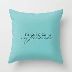 Tiffany & Co. pillow