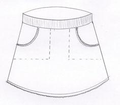 Werkbeschrijving tricotrokje LindaWat heb je nodig voor meisjes?Tricotstof, boordstof, leuke kantjes of bandjes en pyama elastiek.Hieronder staat aangegeven wat je ongeveer nodig bent.Voor de maten 68/74-92/98:Tricotstof 30 cm, boordstof 15 cm, halve meter pyama-elastiek 2,5 cm breed,kantje of bandje kleine meter. Met 0,25 cm verlengen voor gebruik randje zakje.Voor de maten 104/110-140/146:Tricotstof 40 cm, boordstof 15 cm minimaal 30 cm dubbel breed, 60 cm pyama-elasti... Sewing Patterns For Kids, Sewing For Kids, Little Girl Outfits, Kids Outfits, Skirts For Kids, How To Make Clothes, Baby Kind, Baby Kids Clothes, Diy For Girls