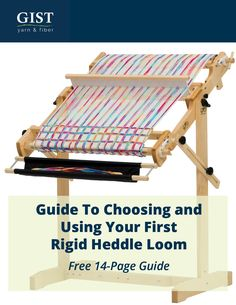Guide for Choosing And Using Your First Rigid Heddle Loom Weaving Textiles, Weaving Patterns, Tapestry Weaving, Rug Loom, Loom Weaving, Hand Weaving, Weaving Art, Loom Knitting Projects, Weaving Projects