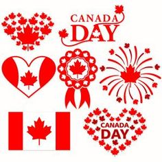 Canada Day SVG Cuttable Design with Maple Leaf and Canadian Flag Prints. Canada Day Flag, Happy Canada Day, Apex Embroidery, Embroidery Designs, Cricut Canada, Canada Leaf, Canada Day Crafts, Cricut Craft Room, Rock Painting Designs