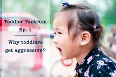 Toddler Tantrum Ep.1 : Why toddlers get aggressive?   Wonder Toddlers