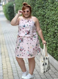 vestido plus size le - January 20 2019 at Plus Size Fashion Dresses, Plus Size Fashion For Women, Plus Size Dresses, Plus Size Outfits, Plus Size Women, Look Plus Size, Plus Size Casual, Big Girl Fashion, Curvy Fashion