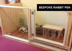 Great idea for when your bunny can't always be free range in your home