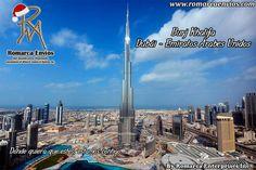 (Nuestras tasas a las 09:30am $3.345 - €3.549 ) ElBurj Khalifa, es unrascacielosubicado enDubái(Emiratos Árabes Unidos). Con 828metros de altura, es laestructura más alta de la que se tiene registro en la historia. Conocido durante su construcción comoBurj Dubái(Torre Dubái), el Burj Khalifa es la parte central de un desarrollo más complejo conocido en inglés comoDowntown Dubai, Debe su nombre al Jeque y presidente de los Emiratos Árabes Unidos,Jalifa bin Zayed Al Nahayan.