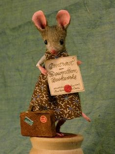 From Mouseland.  Really cool mouse dioramas.