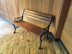 How To Replace Wood On Cast Iron Bench Home Decor
