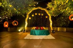 Decoration Ideas - The Grand Wedding! Photos, Bengali Culture, Beige Color, Decoration, Stage Decoration, Wedding pictures, images, vendor credits - The Umrao, Mandira Wirk, Amanpreet Photography, WeddingPlz