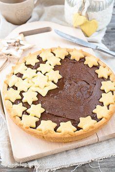 CROSTATA ALLA NUTELLA (SENZA BURRO) Gnocchi, Biscotti, Nutella, Tiramisu, Cake Recipes, Buffet, Chocolate, Cooking, Ethnic Recipes