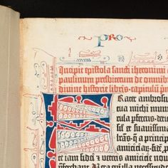 Gutenberg Bible. Arch. B b.10 - pages