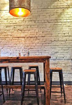 Naturally rustic. Fergus Cafe, Malvern East, Melbourne.