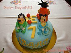 Tarta Disney Baby y DragonBall Z