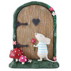 Puerta de hadas mágico con corazón de Mouse &: Amazon.es: Hogar