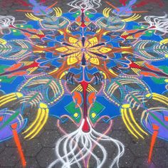 Sand paintings, paintings, installations and sculptures from Joe Mangrum at http://www.joemangrum.com/artnews/
