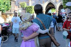 "fuckyeahdisneyfacecharacters: ""Rapunzel and Flynn """
