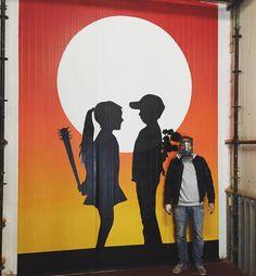 Todays wall at club Radion in Amsterdam by iamfake