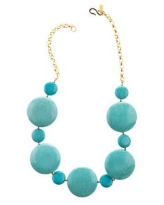 Love this Kenneth Jay Lane necklace! Can't find it to buy it anywhere so, I might try to make my own :)