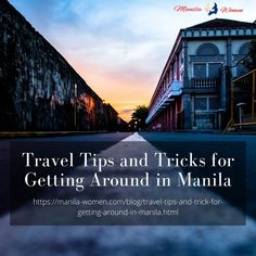 A travel itinerary isn't the only thing you have to prepare. Learn how to navigate the city of Manila with some helpful tips as well to keep you on top of things #enterthePhilippines #Publictransportation #savemoney #foreignnationals #thePhilippines #Filipinocitizens #localauthorities Filipino Dating, Philippine Women, Women Seeking Men, Public Transport, Manila, Helpful Tips, Philippines, Saving Money, Travel Tips