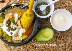 AJIACO COLOMBIANO (COLOMBIAN CHICKEN & POTATO SOUP)